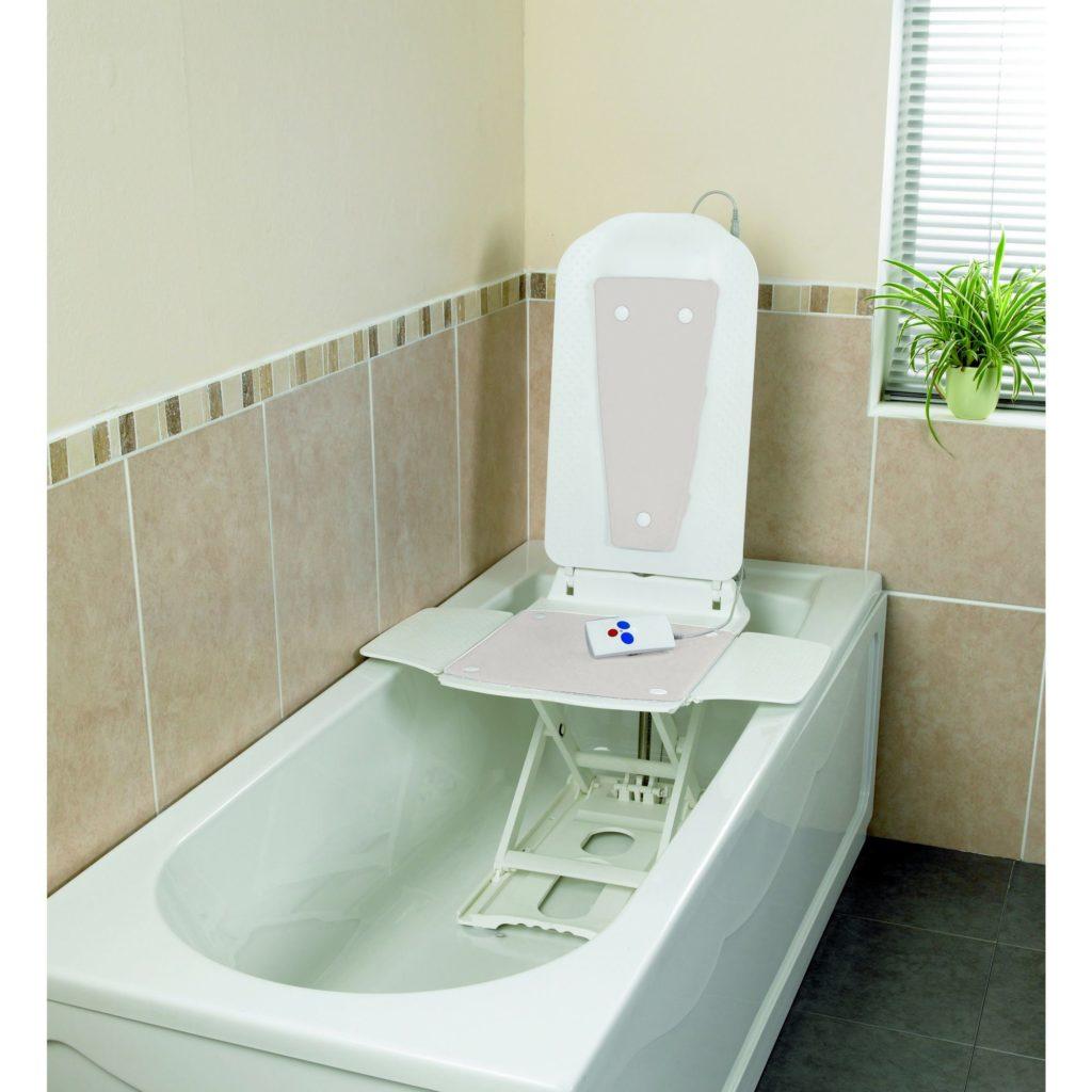 Deltis Bathlift in White