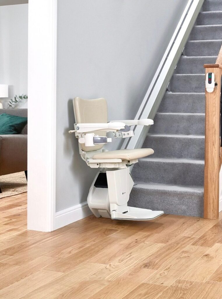DMA straight stairlift downstairs